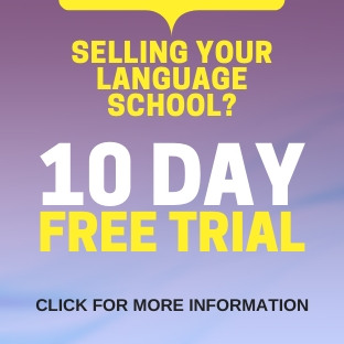 Selling your Language School? 10-Day Free Trial