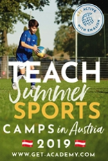 Teach at summer sports camps in Austria