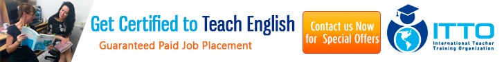 Get certified to teach English - Guaranteed paid job placement